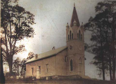 Fork United Methodist Church in 1922.