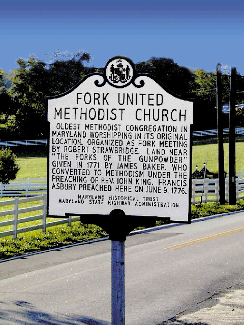 Fork-united-methodist-church-historical-marker