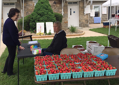 parishioners-at-strawberry-festival