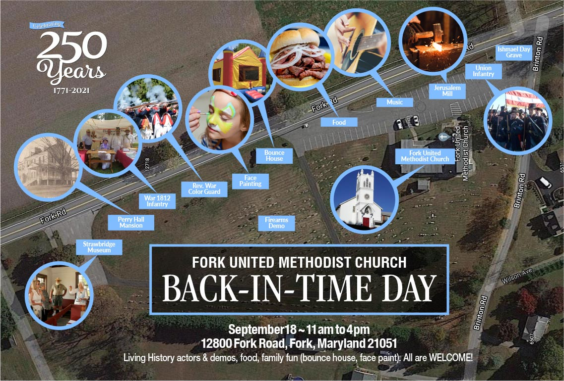 Fork UMC BAck In Time Day site map