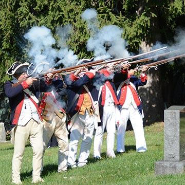 Revolutionary War Color Guard
