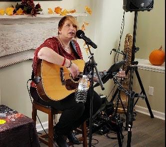 Yvonne Hartman singing
